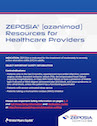 ZEPOSIA Access Resources for HCPs