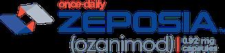 Logo of Zeposia® (ozanimod) 0.92 mg capsules