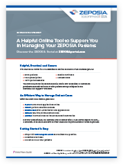 Online tool to support in managing Zeposia® patients